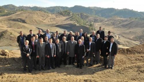 BM üyelerinden Kürtül çöplük alanına ziyaret...