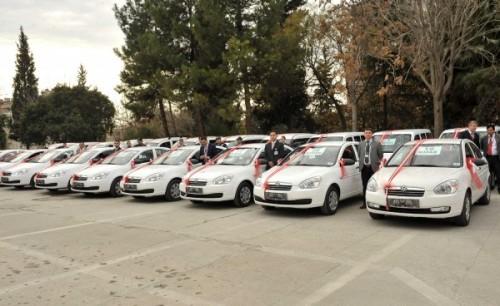 Kahramanmaraş Emniyet'ine 40 araç desteği…