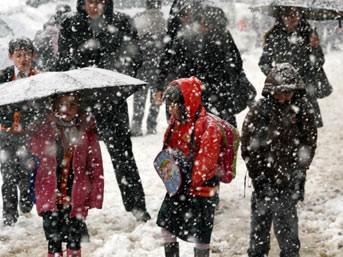 DİKKAT: Meteorolojiden yoğun kar yağışı uyarısı!..