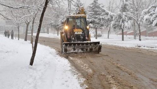 Kar yağışı 30 köyün yolunu ulaşıma kapadı!