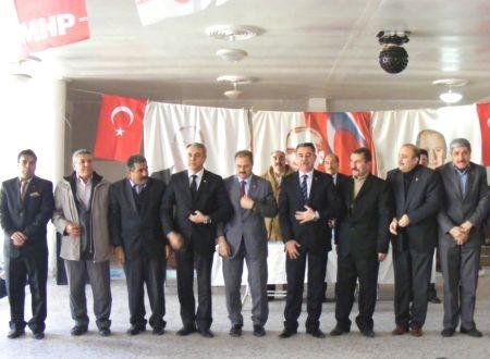 MHP Andırın'ın Yeni Başkanı Ali Çatalbaş..