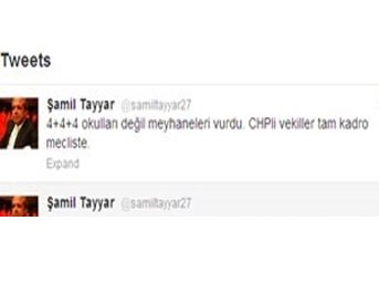 Şamil Tayyar, TBMM'de gerginlik yaşattı!..