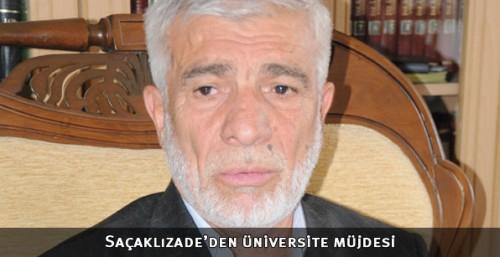 Saçaklızade Vakfı Üniversitesi kuruluyor...