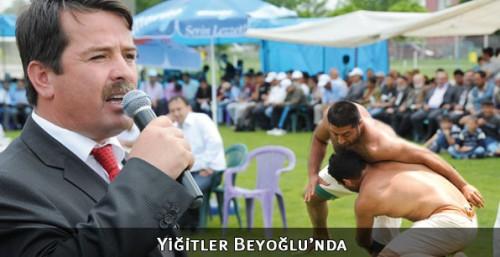 Pehlivanlar Beyoğlu'nda çayıra çıkacak...