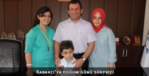 Baba Kabakcı'ya doğum günü sürprizi...