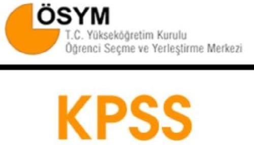 KPSS başvurularında yarın son gün..