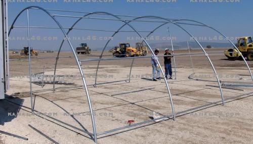 10 bin Suriyeli için çadır kent yapılıyor..