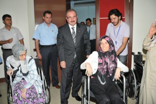 17 engelli vatandaşa tekerlekli sandalye dağıtıldı…