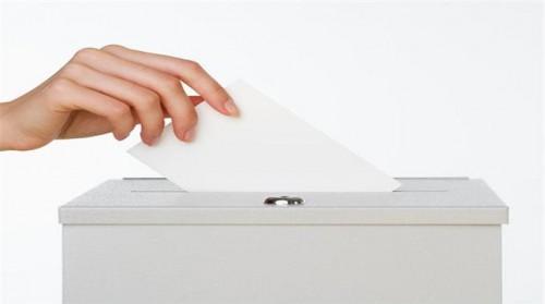 Erken yerel seçim için düğmeye basıldı..