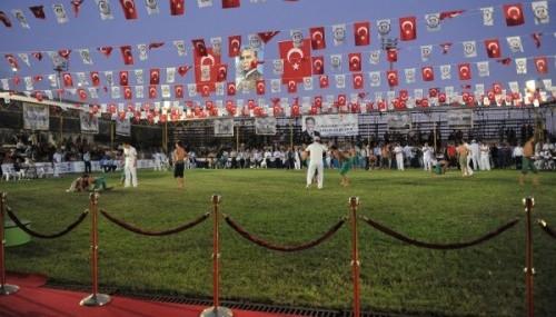 Karakucak Güreş Festivali'nin bu yıl 23.'sü yapılıyor..