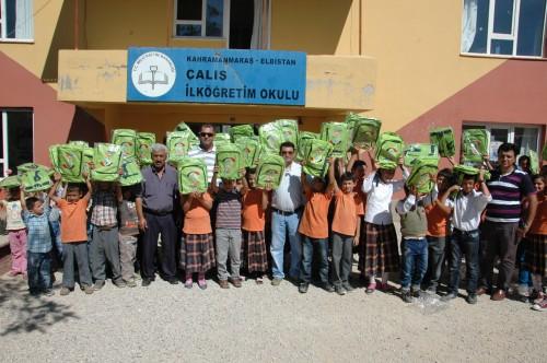 Enerjisa'dan eğitime kırtasiye desteği…