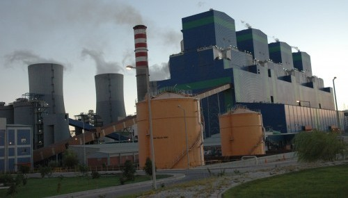 Arıza nedeniyle 3. Ünite'de elektrik üretimi durdu..