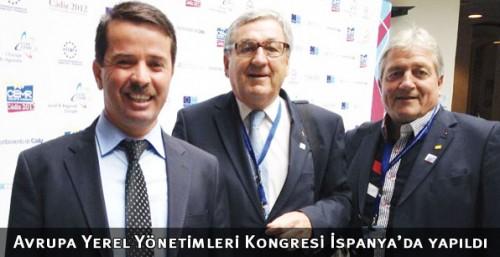 Avrupa Yerel Yönetimleri Kongresi İspanya'da yapıldı..