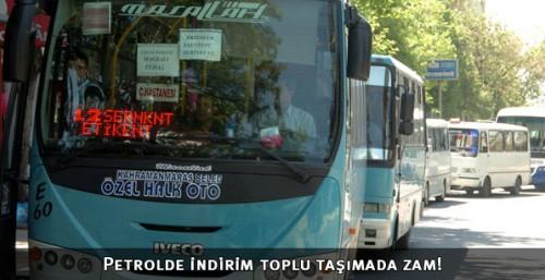 Toplu taşımaya 'Büyükşehir' zammı geldi...