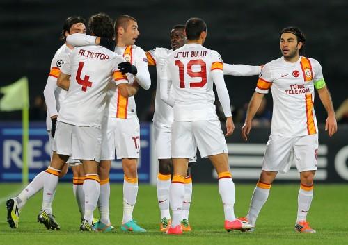 ŞAMPİYONLAR LİGİ : CFR Cluj: 1 - Galatasaray: 3..