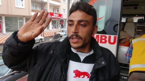 Suriyeli hasta Elbistan'da tedavi edildi..