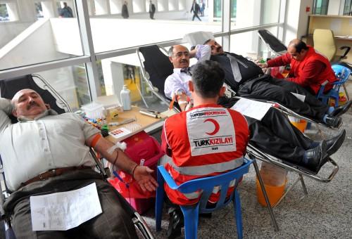 Kızılay'a kan bağışı kampanyası başladı…