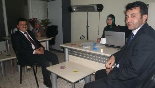 Türkoğlu Belediyesi'nde 'Beyaz Masa' kuruldu…