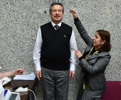 Meclis üyeleri obezite taramasından geçirildi…