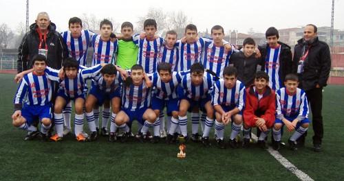 U 15 Ligi Şampiyonu: Arsan Sümerspor..