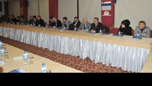Stratejik Yerel Yönetişim toplantısı yapıldı…