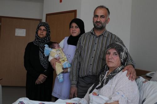 Kalbinden ameliyat olan sığınmacı sağlığına kavuştu..