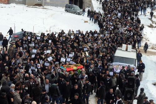 PKK'lı Doğan'ın cenazesi Kahramanmaraş'a getirildi..