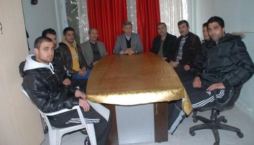 Elbistan Belediyespor olağan kongresi...