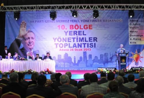 AK Parti Yerel Yönetimler 10. Bölge Toplantısı..