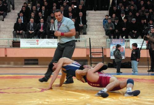 Şampiyona'nın bir ayağı da Elbistan'da yapıldı..
