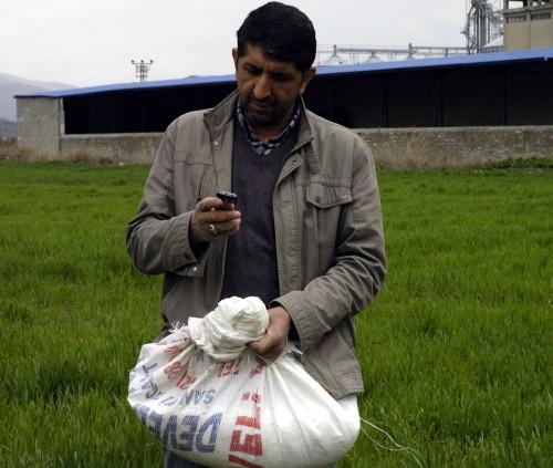 Kahramanmaraşlı çiftçilere SMS'li destek…