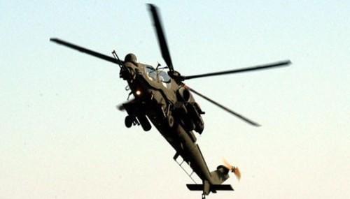 Milli helikopter ATAK'tan göz dolduran gösteri!