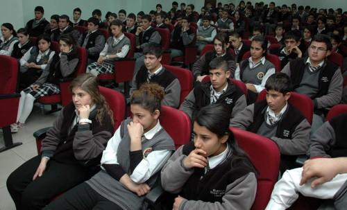 Öğrencilere vergi bilincinin önemi anlatıldı...
