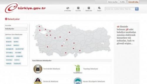 ''e-Devlet Kapısı ve Yerel Yönetimler