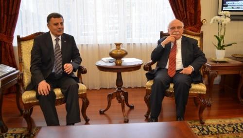 TPB Yönetimi Bakan Nabi Avcı'yı ziyaret etti..