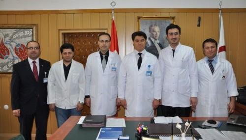 Yeni atanan doktorlar göreve başladı..