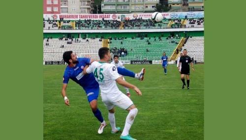 Kahramanmaraşspor deplasmanda galip: 1-2