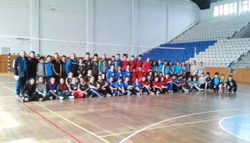 Okullar arası voleybol turnuvası..