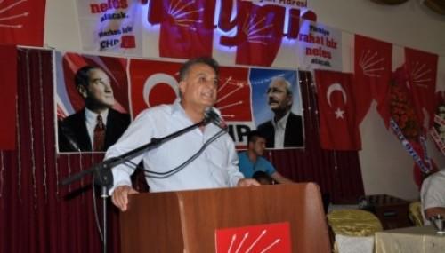 CHP Tarsus ilçe başkanlığına Ali İlk seçildi..