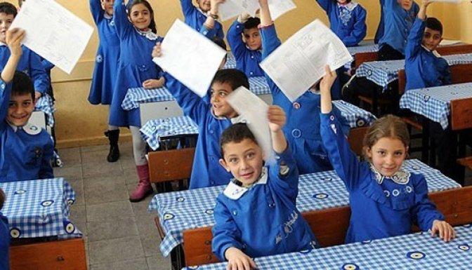 Elbistan'da 34 bin öğrenci karne alacak..
