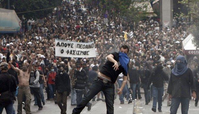 Yunanistan'da 'ERT' grevi ülkeyi karıştırdı..