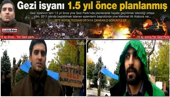 Gezi eylemleri 1.5 yıl önce tezgahlanmış! İZLE