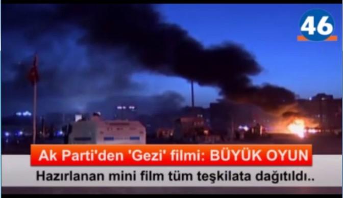"AK Parti'den Gezi filmi: ""Büyük Oyun"""
