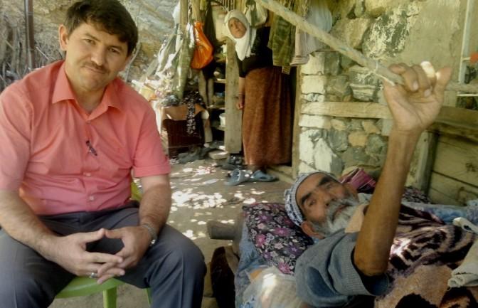 Müftü'den köylere hasta ziyaretleri..