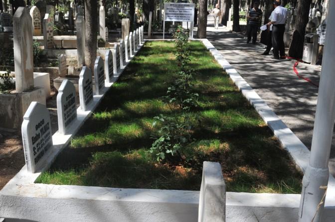 Yeni mezarlar tek tip olacak..