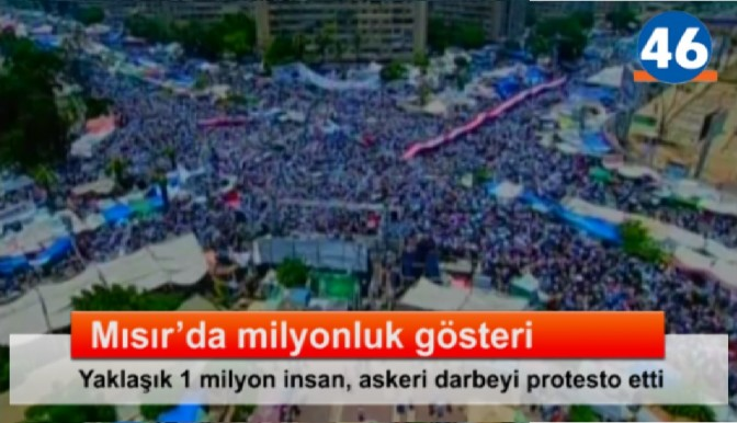 Mısır'da milyonluk gösteri..