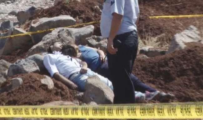 Biri kız iki kişinin cesedi bulundu