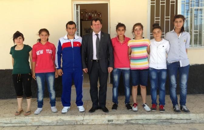 Kabakçı, Maraşgücüspor'u ziyaret etti