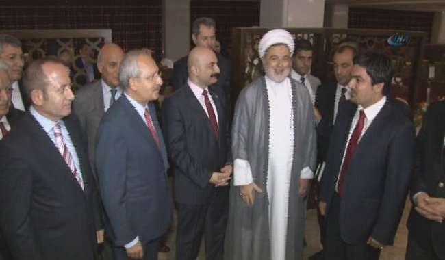 Kılıçdaroğlu, Türkmen Cephesi üyeleriyle