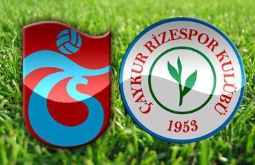 Trabzonspor: 2 Ç.Rizespor: 1
